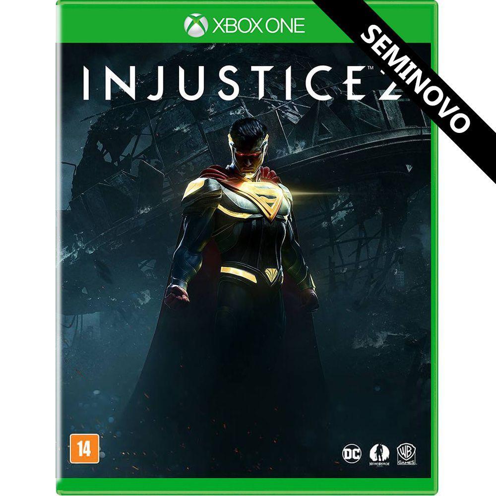 Injustice 2 - Xbox One (Seminovo)