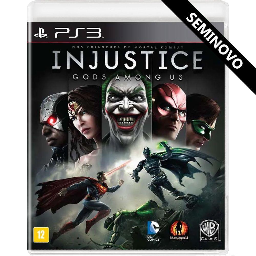 Injustice Gods Among Us - PS3 (Seminovo)