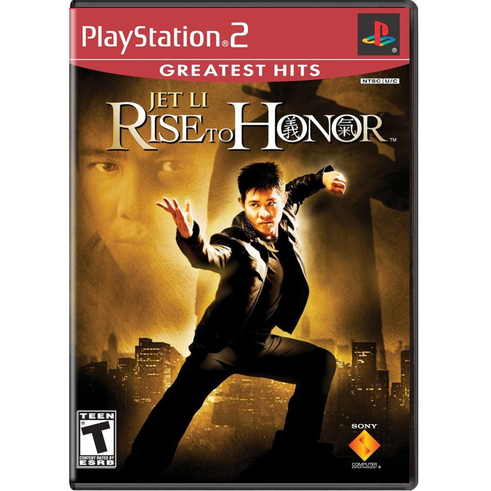 Jet Li Rise to Honor (Greatest Hits) - PS2