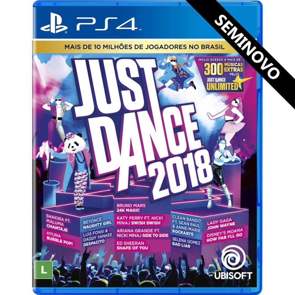 Just Dance 2018 - PS4 (Seminovo)