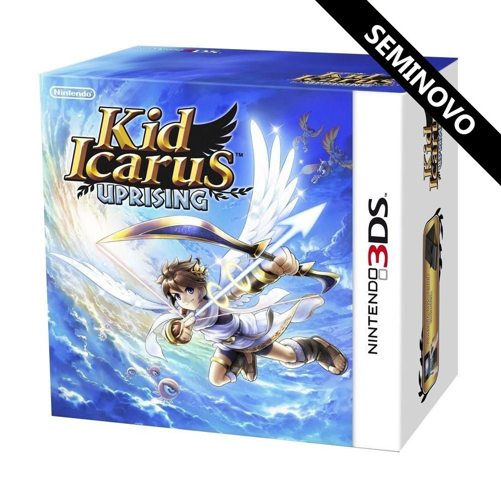 Kid Icarus Uprising - 3DS (Seminovo)