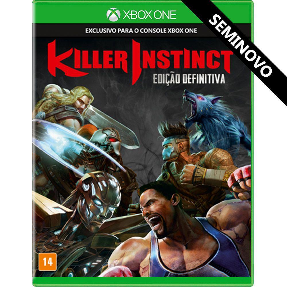 Killer Instinct Edição Definitiva - Xbox One (Seminovo)