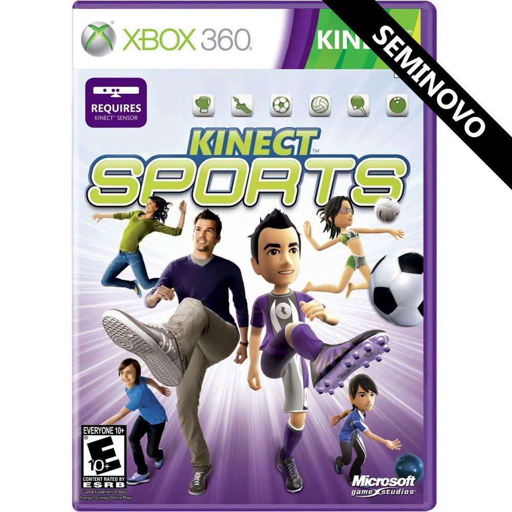 Kinect Sports - Xbox 360 (Seminovo)