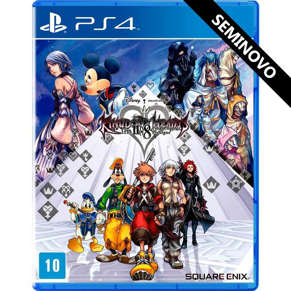 Kingdom Hearts HD 2.8 Final Chapter Prologue - PS4 (Seminovo)
