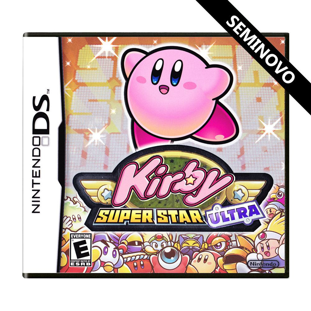 Kirby Super Star Ultra - DS (Seminovo)
