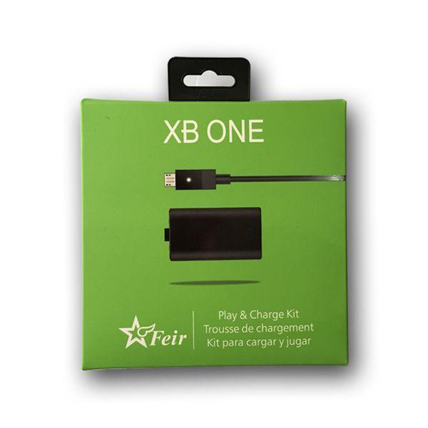 Kit Bateria Recarregável + Carregador Feir Xbox One