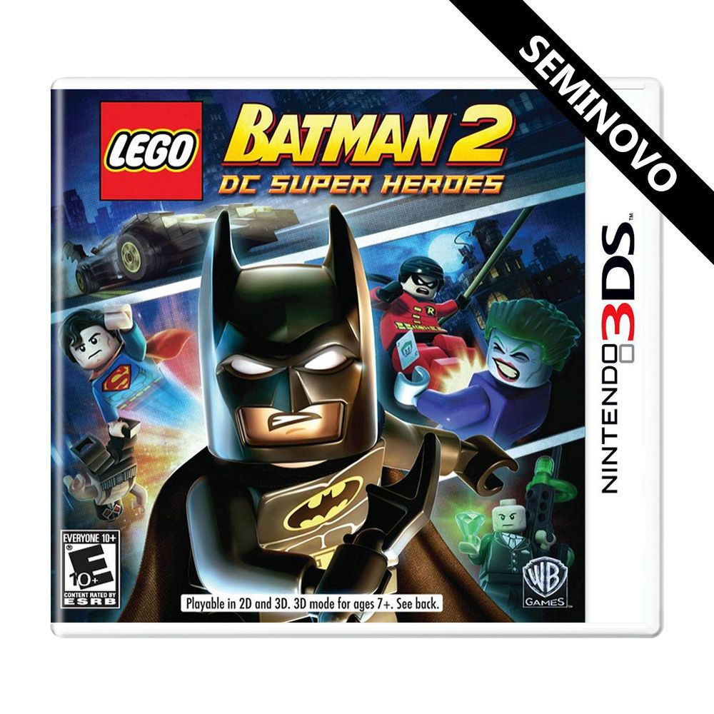 Lego Batman 2 DC Super Heroes - 3DS (Seminovo)