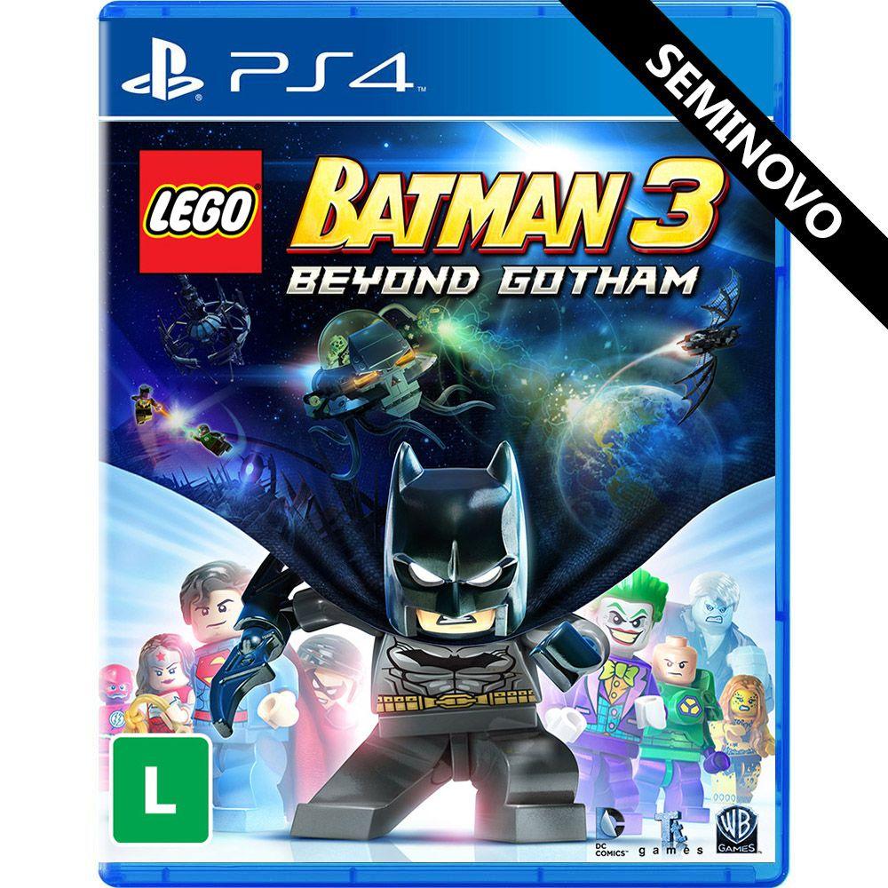 LEGO Batman 3 Beyond Gotham - PS4 (Seminovo)