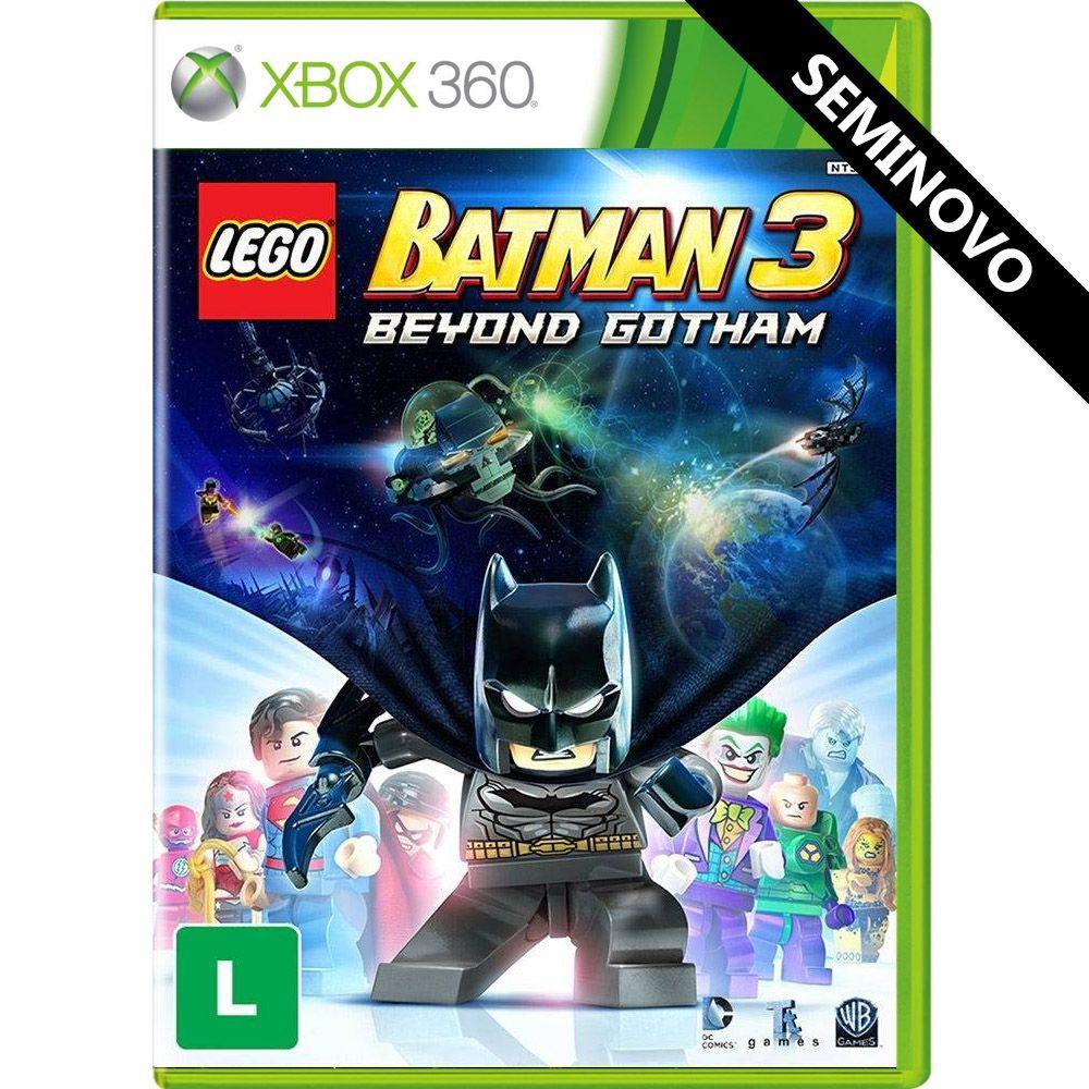 LEGO Batman 3 Beyond Gotham - Xbox 360 (Seminovo)