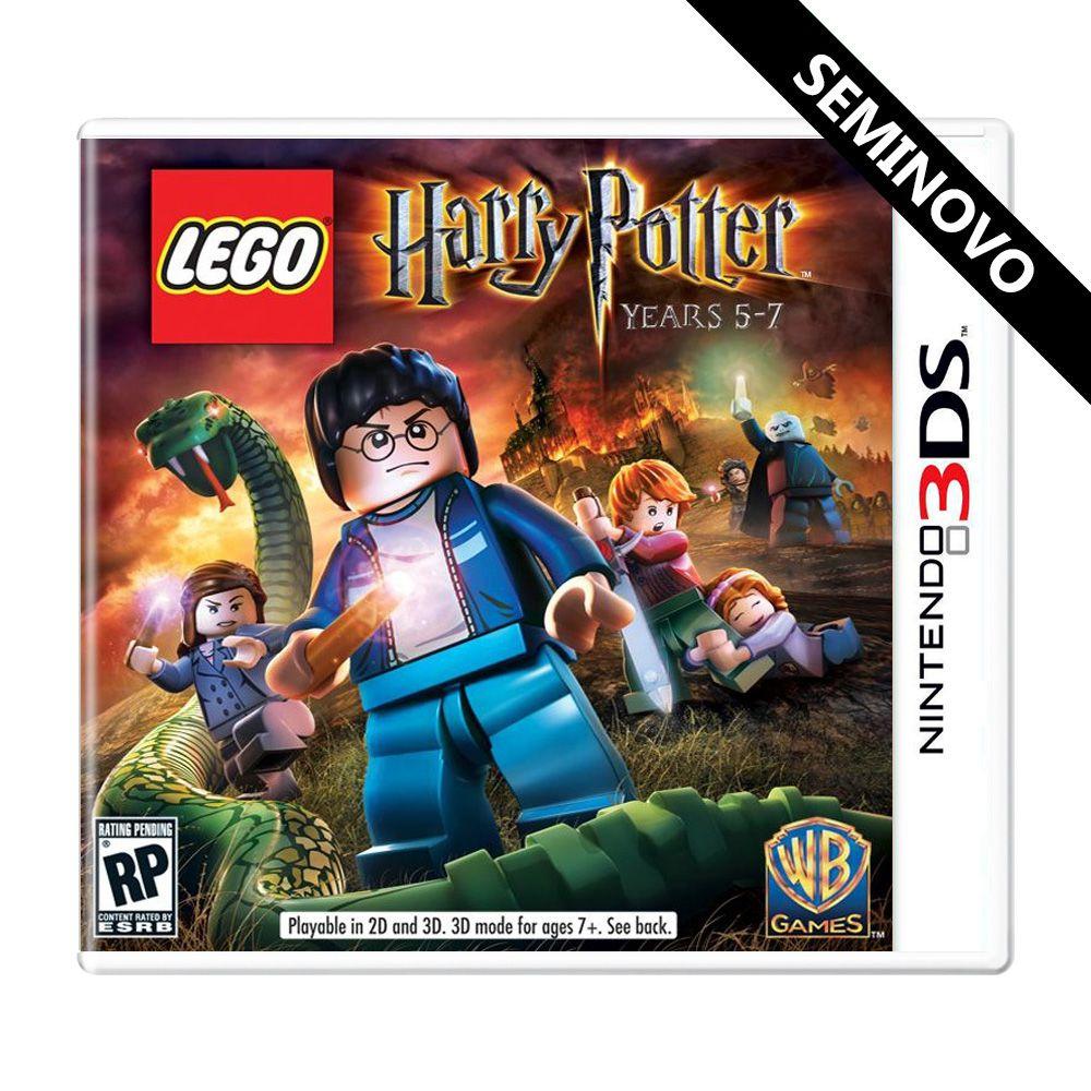 LEGO Harry Potter Years 5-7 - 3DS (Seminovo)