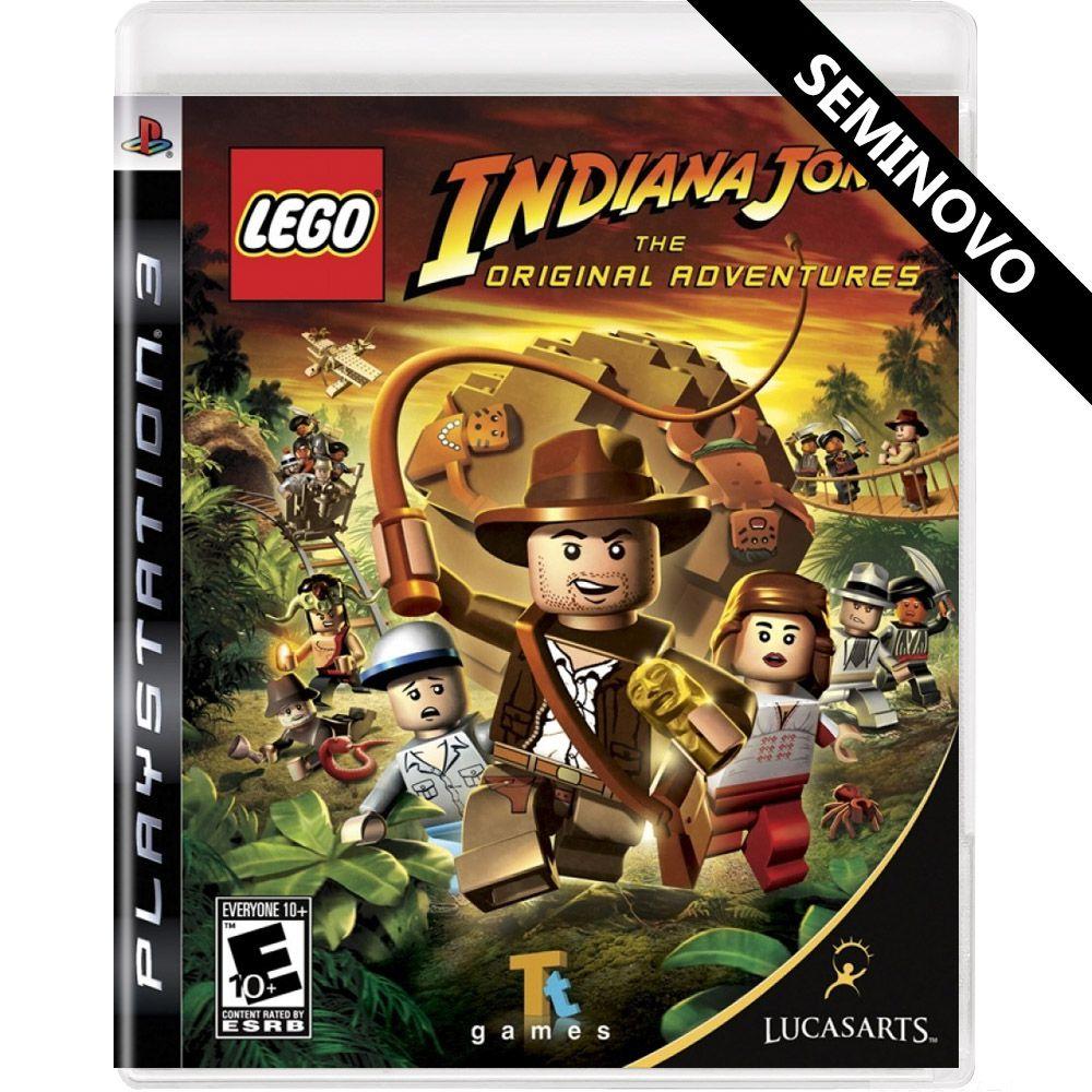 LEGO Indiana Jones The Original Adventures - PS3 (Seminovo)