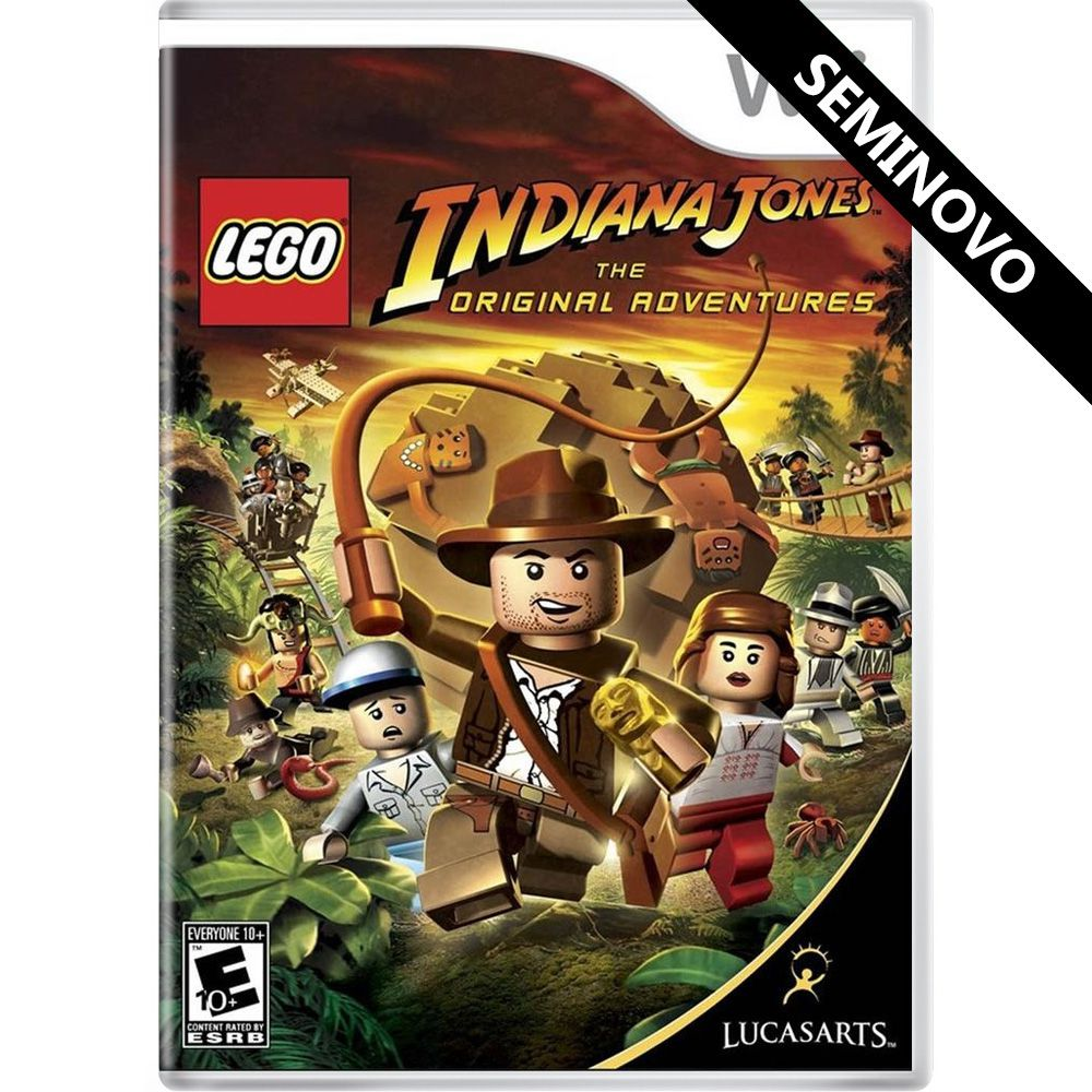 LEGO Indiana Jones The Original Adventures - Wii (Seminovo)