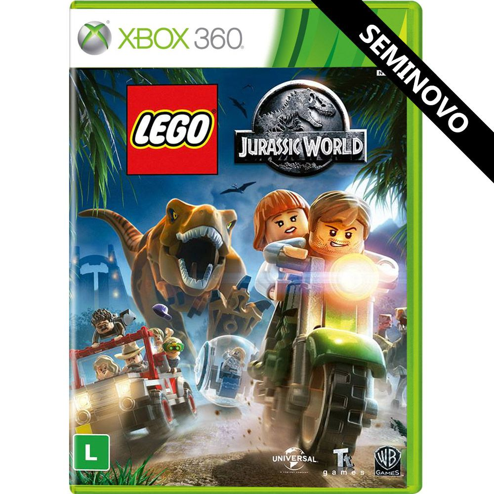 LEGO Jurassic World - Xbox 360 (Seminovo)