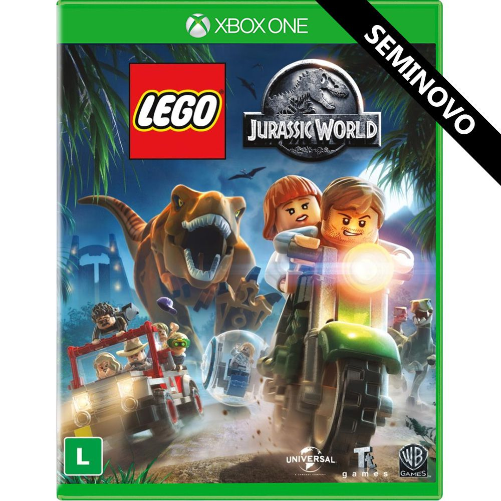 LEGO Jurassic World - Xbox One (Seminovo)