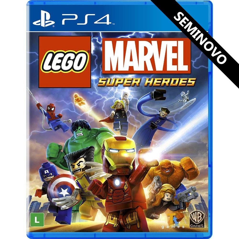 LEGO Marvel Super Heroes - PS4 (Seminovo)