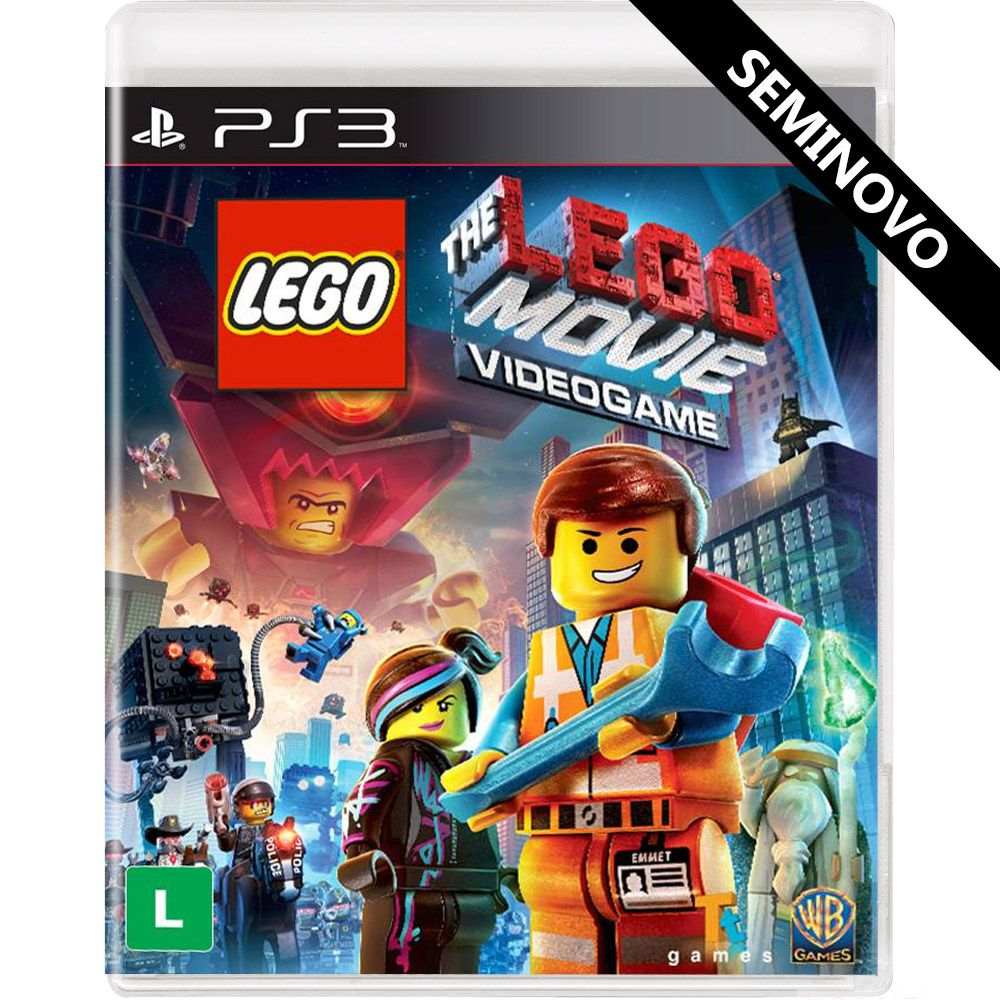 LEGO Movie The Video Game - PS3 (Seminovo)