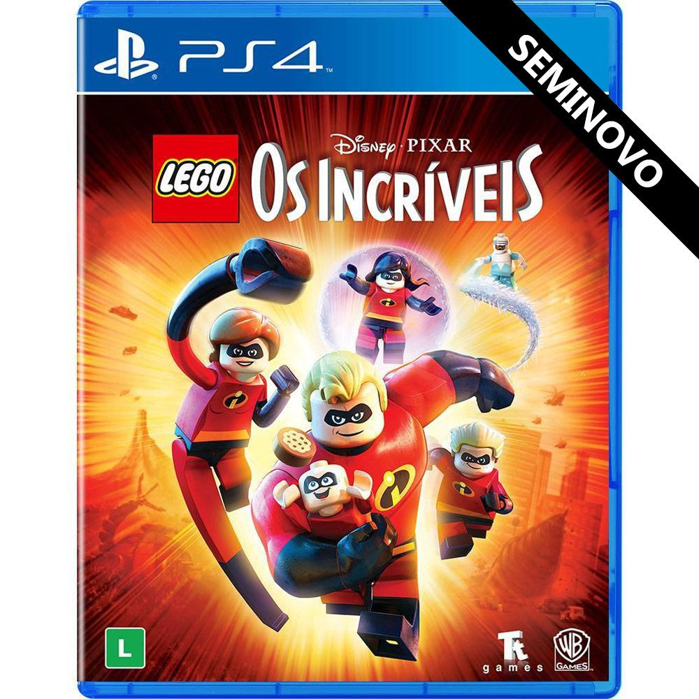 LEGO Os Incríveis - PS4 (Seminovo)