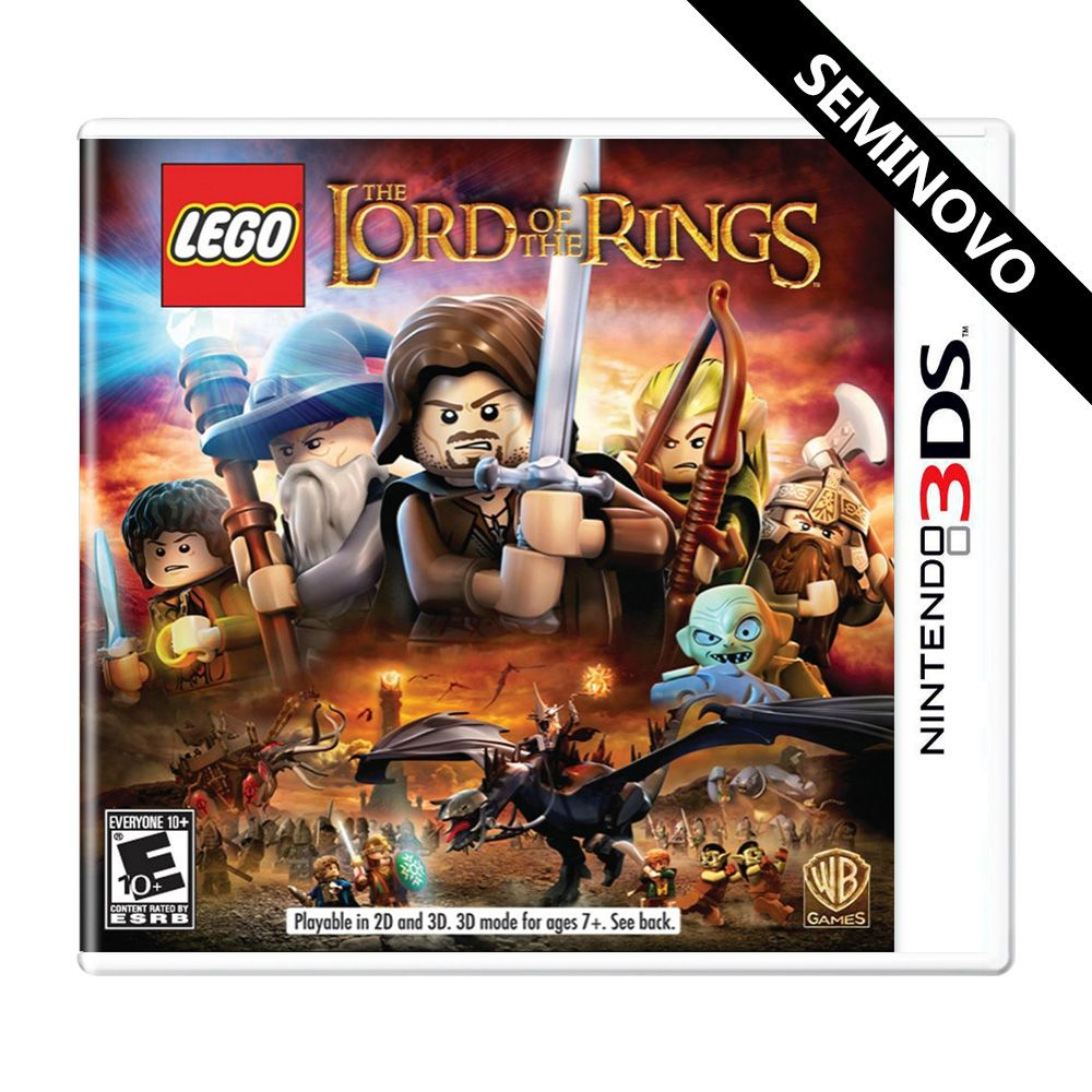 LEGO The Lord of the Rings - 3DS (Seminovo)