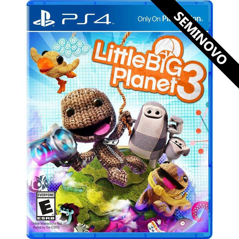 Little Big Planet 3 - PS4 (Seminovo)
