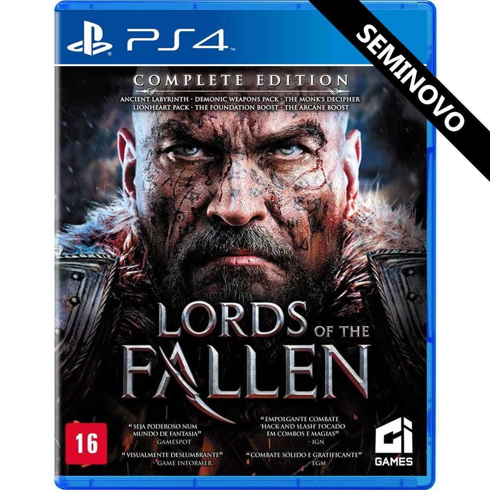 Lords of the Fallen Complete Edition - PS4 (Seminovo)