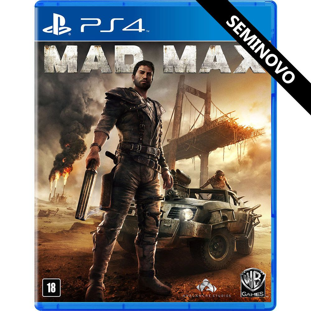 Mad Max - PS4 (Seminovo)