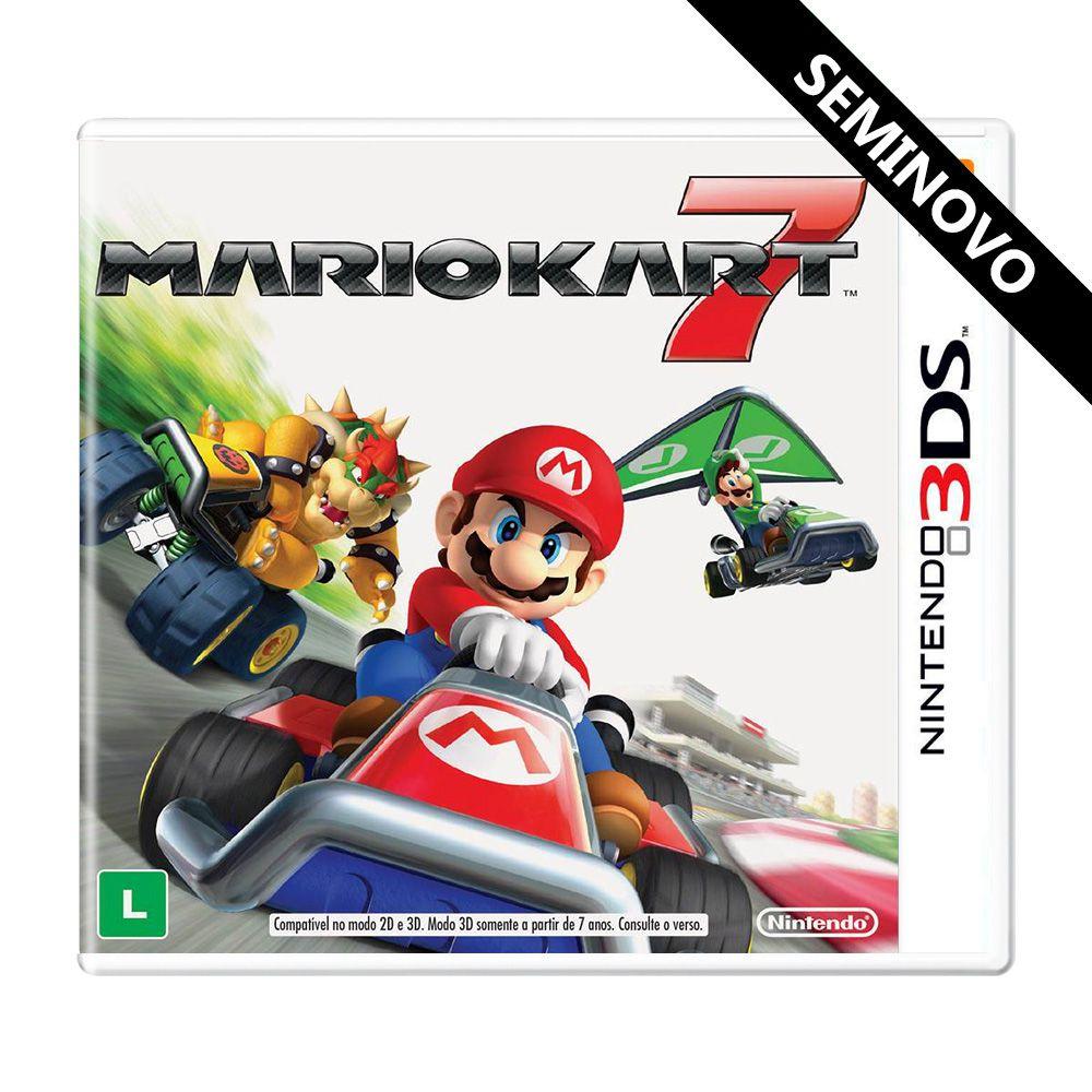 Mario Kart 7 - Nintendo 3DS (Seminovo)