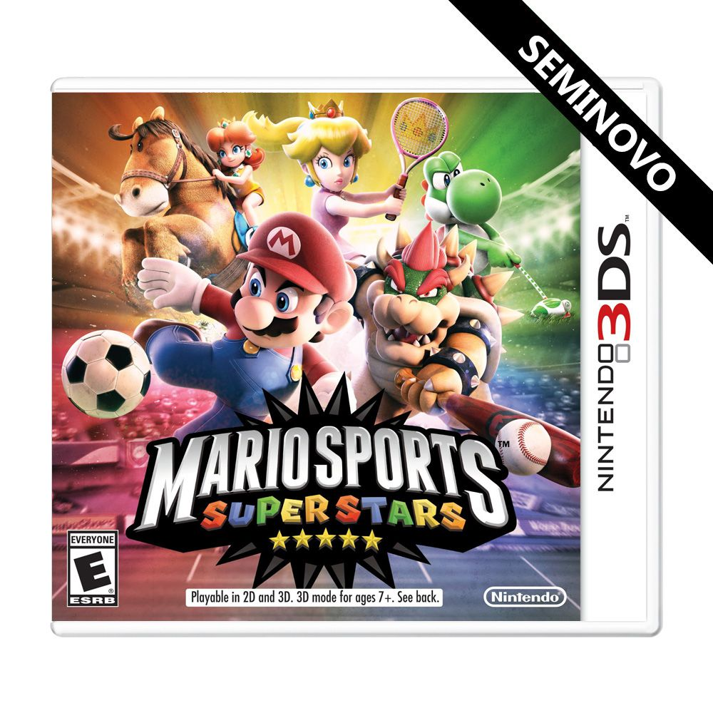 Mario Sports Superstars - 3DS (Seminovo)