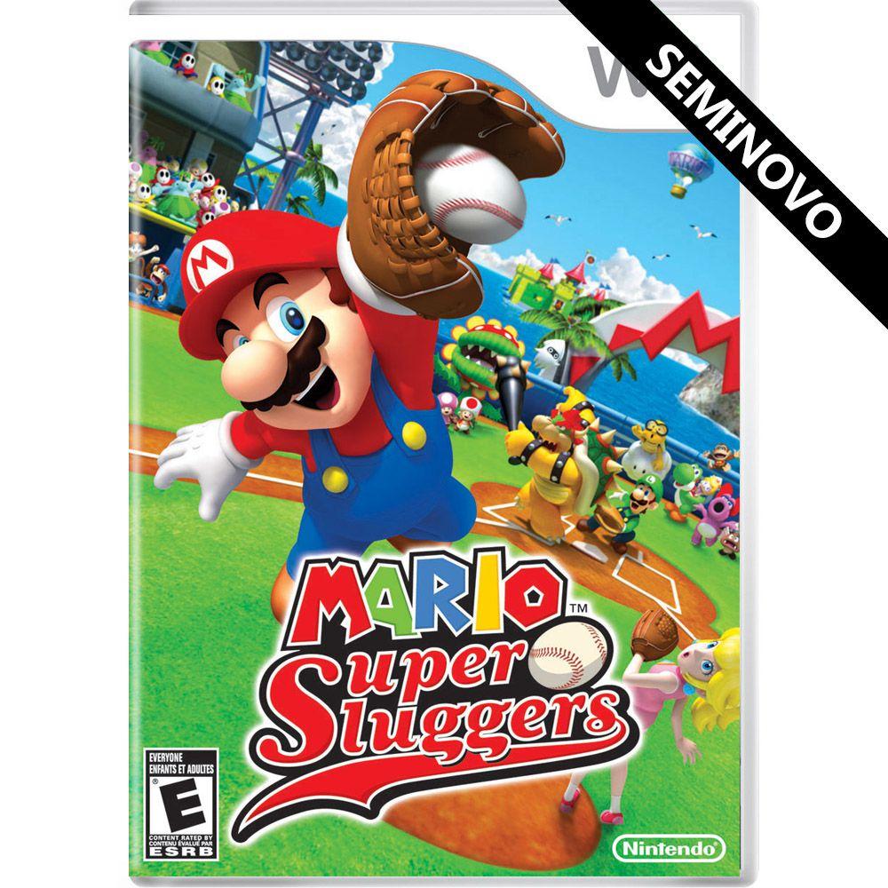 Mario Super Sluggers - Wii (Seminovo)