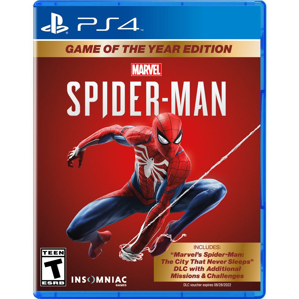 Marvel's Spider-Man Game of the Year Edition - PS4