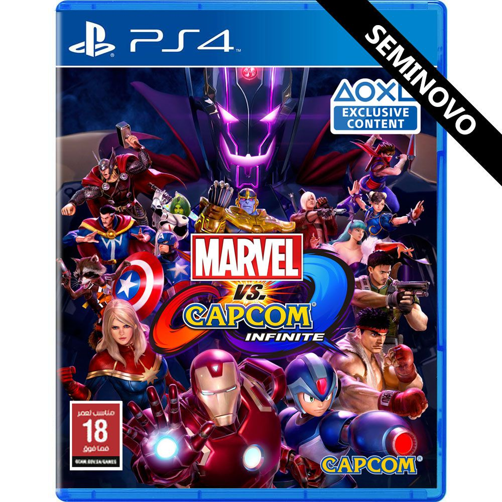 Marvel Vs Capcom Infinite - PS4 (Seminovo)