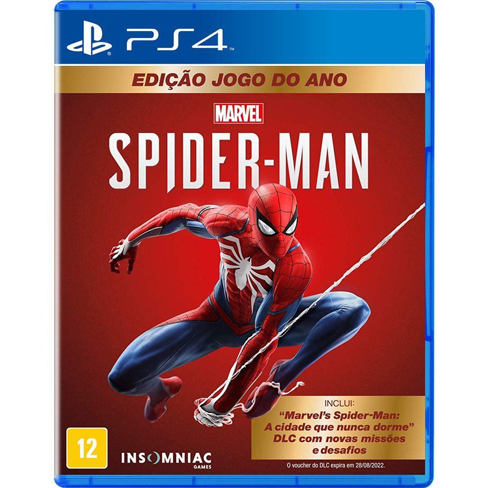 Spider-Man Edição Jogo do Ano - PS4