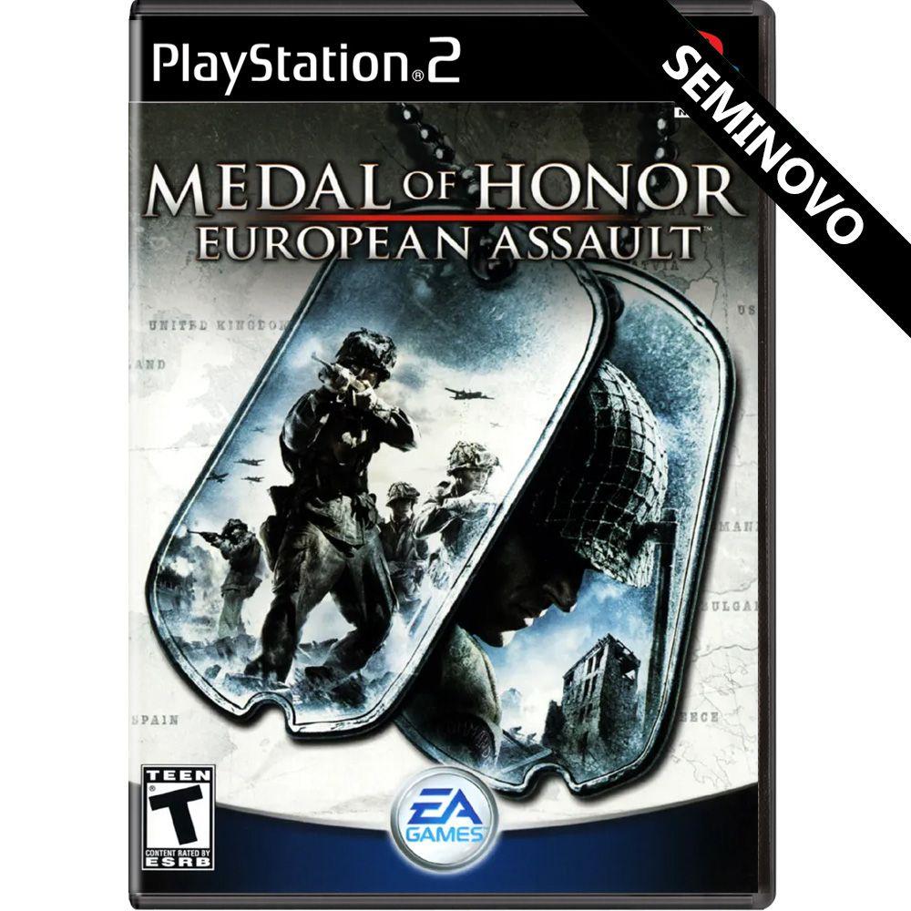 Medal of Honor European Assault - PS2 (Seminovo)