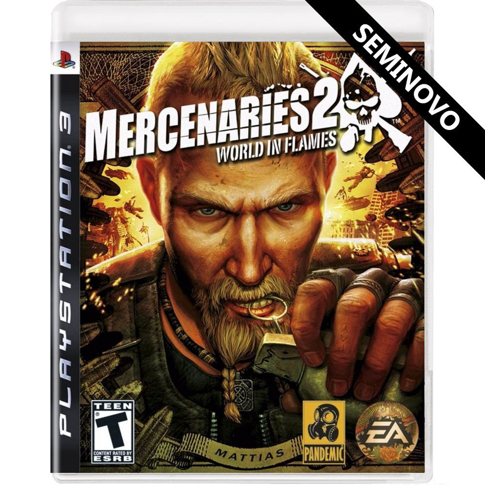 Mercenaries 2 World in Flames - PS3 (Seminovo)