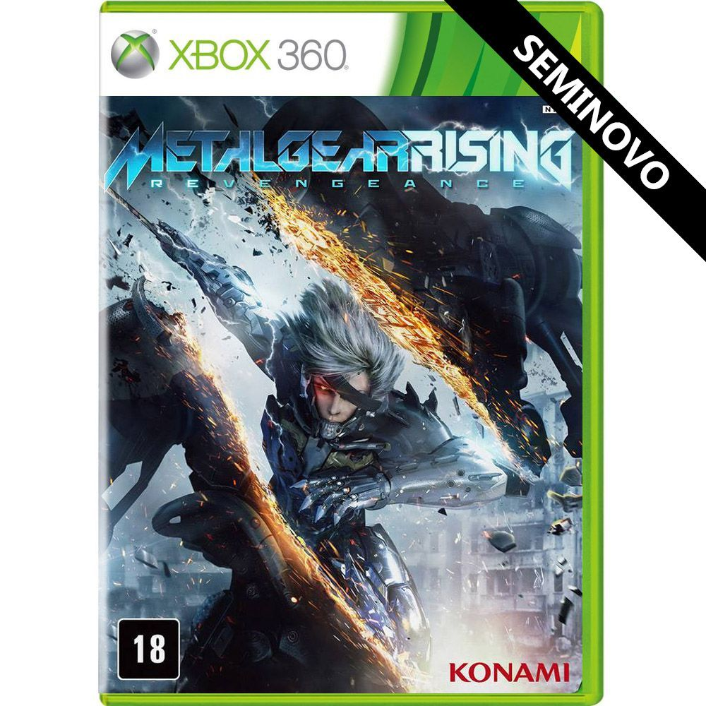 Metal Gear Rising Revengeance - Xbox 360 (Seminovo)