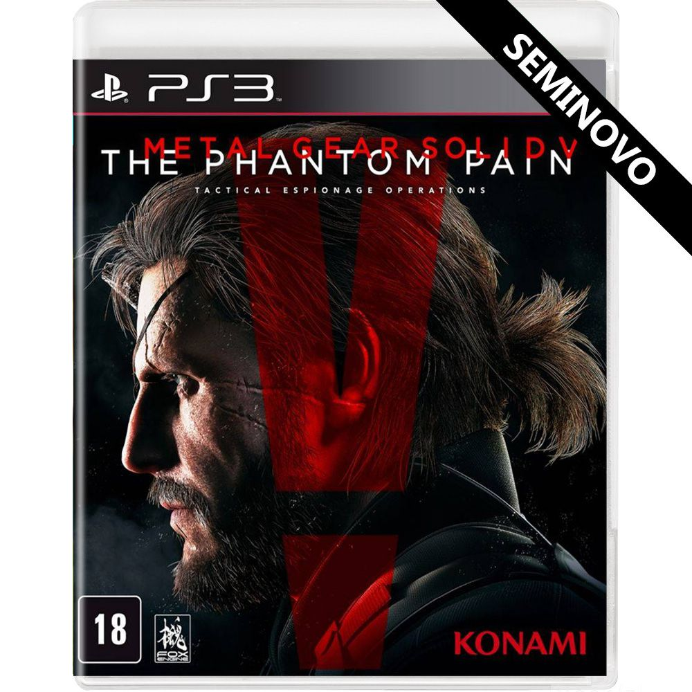 Metal Gear Solid V The Phantom Pain - PS3 (Seminovo)