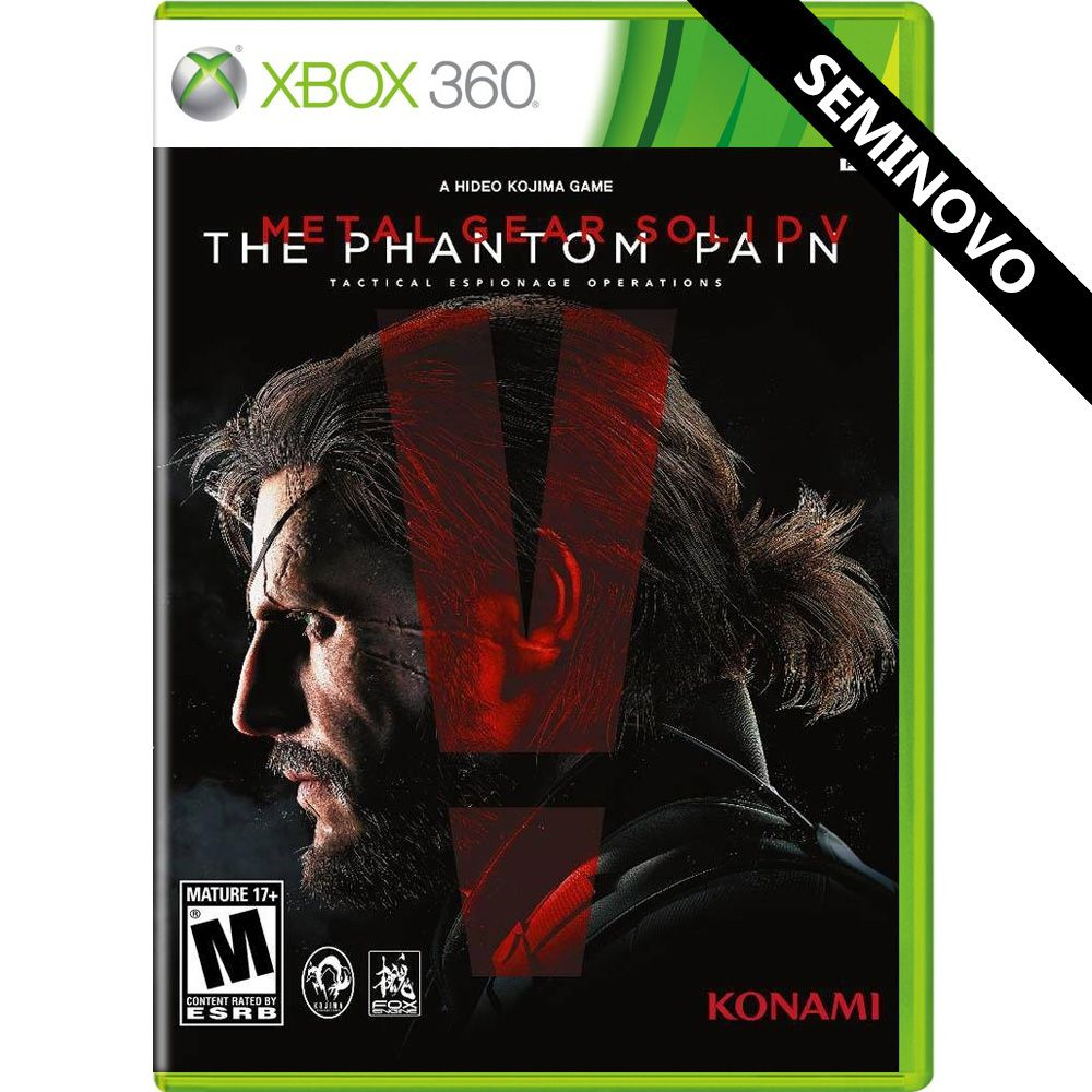 Metal Gear Solid V The Phantom Pain - Xbox 360 (Seminovo)