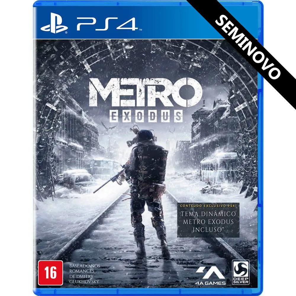 Metro Exodus - PS4 (Seminovo)