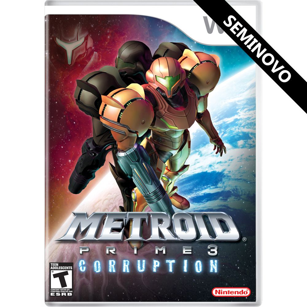 Metroid Prime 3 Corruption - Wii (Seminovo)