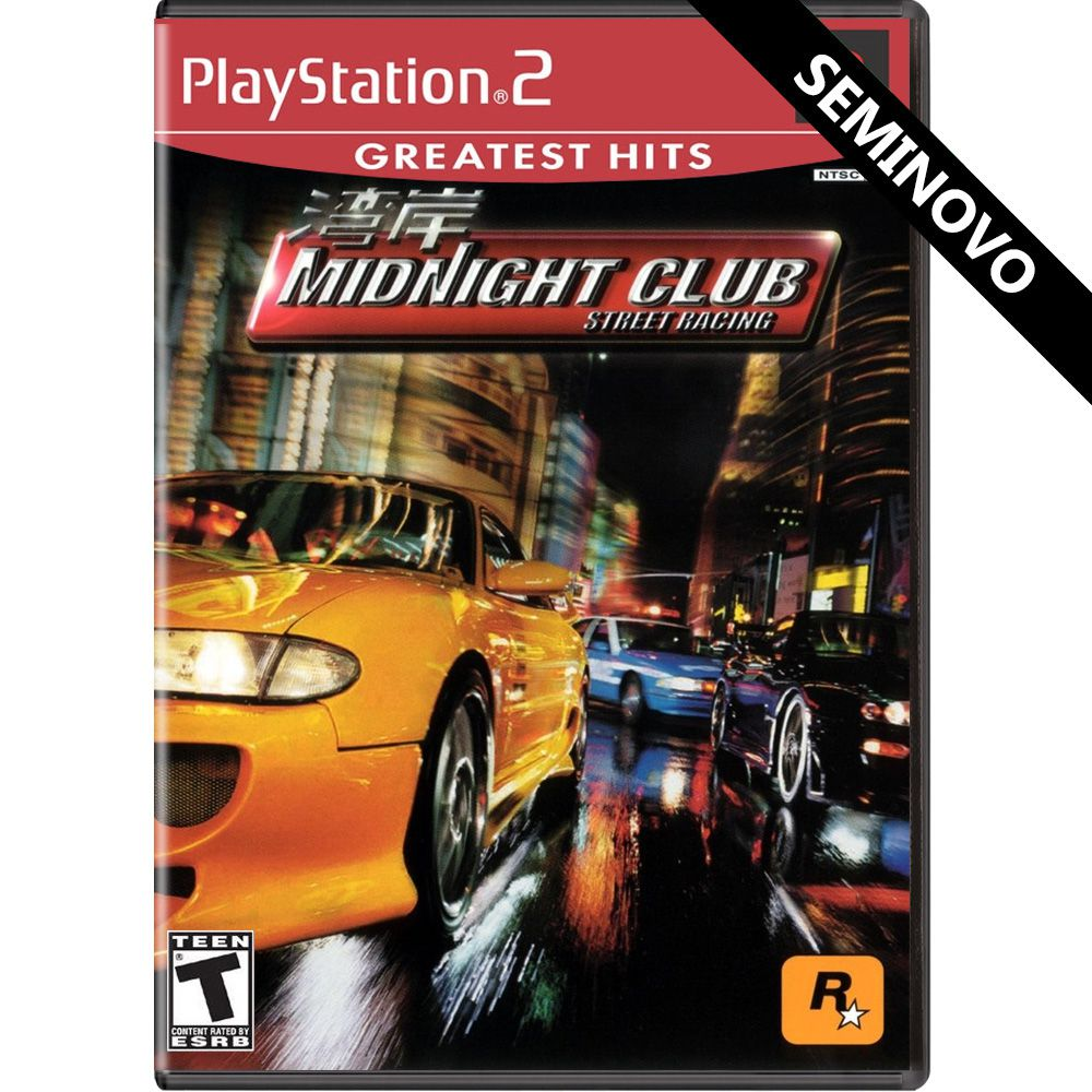 Midnight Club Street Racing (Greatest Hits) - PS2 (Seminovo)
