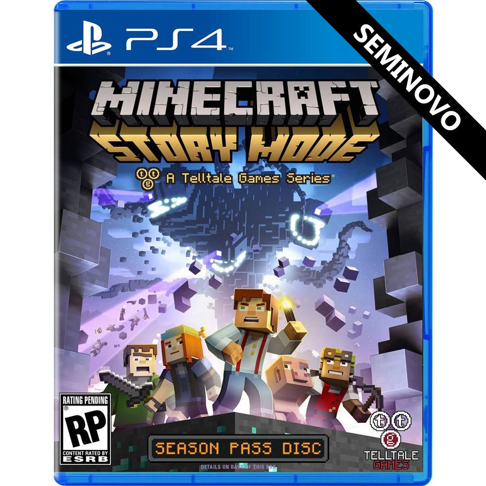 Minecraft Story Mode - PS4 (Seminovo)