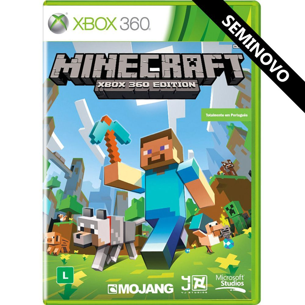 Minecraft Xbox 360 Edition - Xbox 360 (Seminovo)