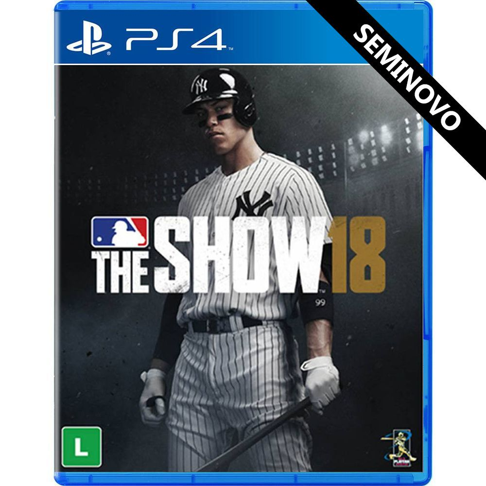 MLB The Show 18 - PS4 (Seminovo)