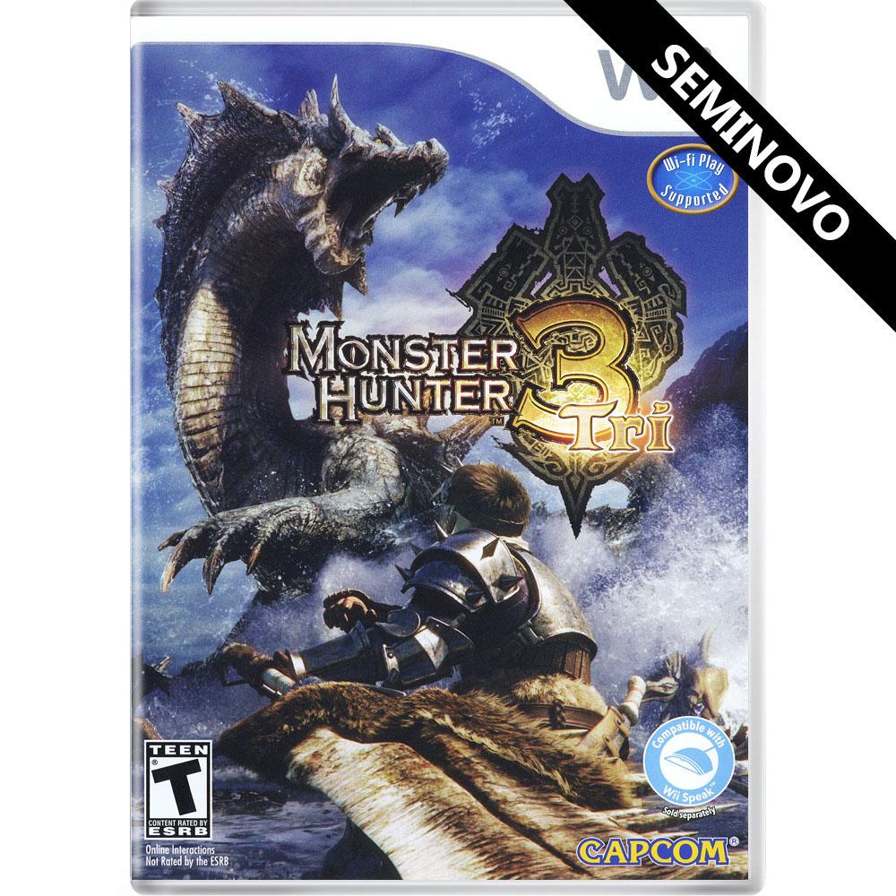 Monster Hunter Tri - Wii (Seminovo)