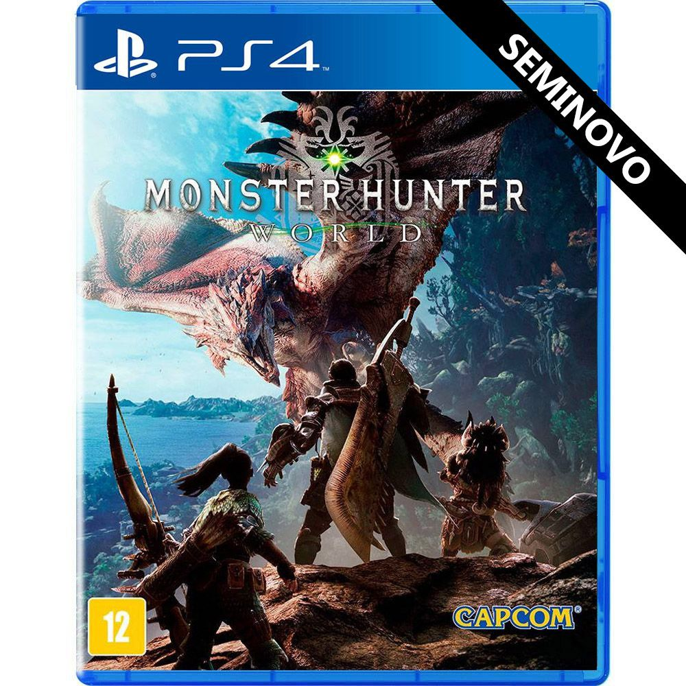 Monster Hunter World - PS4 (Seminovo)