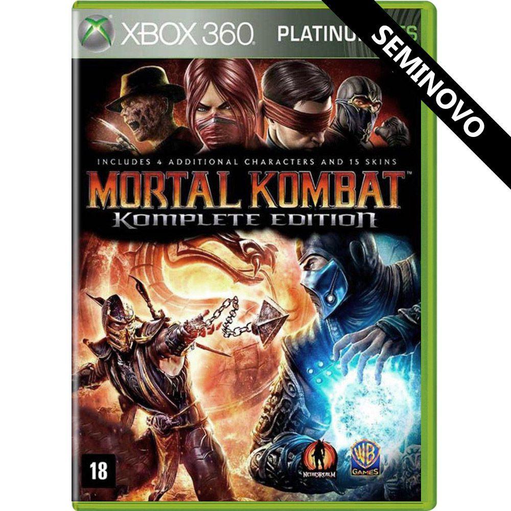 Mortal Kombat Komplete Edition (Platinum Hits) - Xbox 360 (Seminovo)