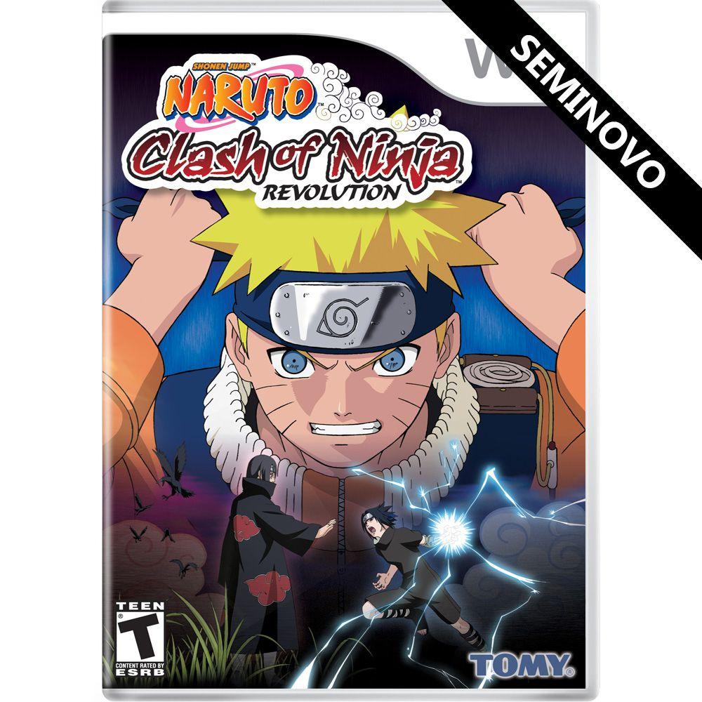 Naruto: Clash of Ninja Revolution - Wii (Seminovo)