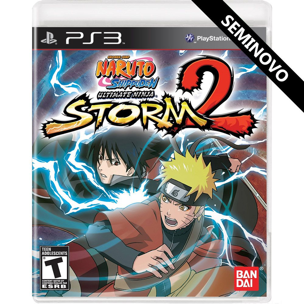 Naruto Shippuden Ultimate Ninja Storm 2 - PS3 (Seminovo)