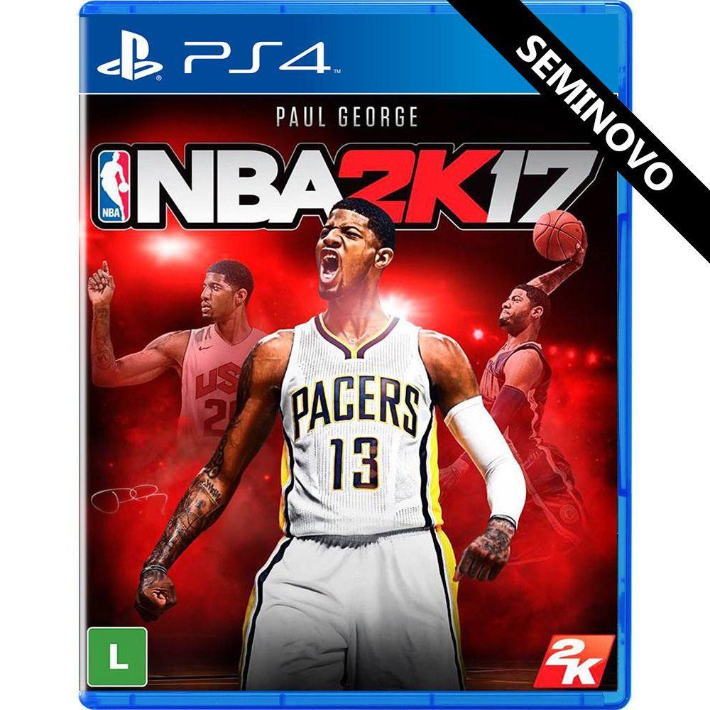 NBA 2K17 - PS4 (Seminovo)