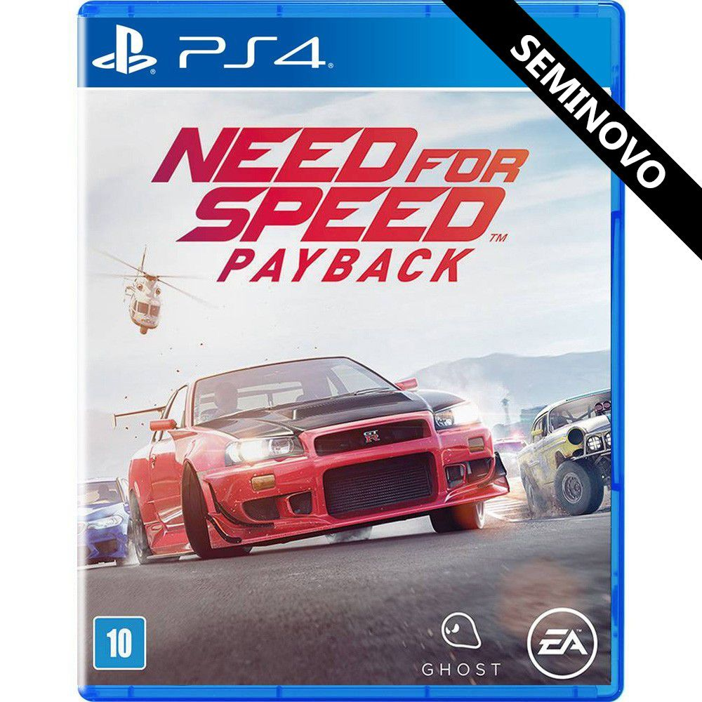 Need for Speed Payback - PS4 (Seminovo)