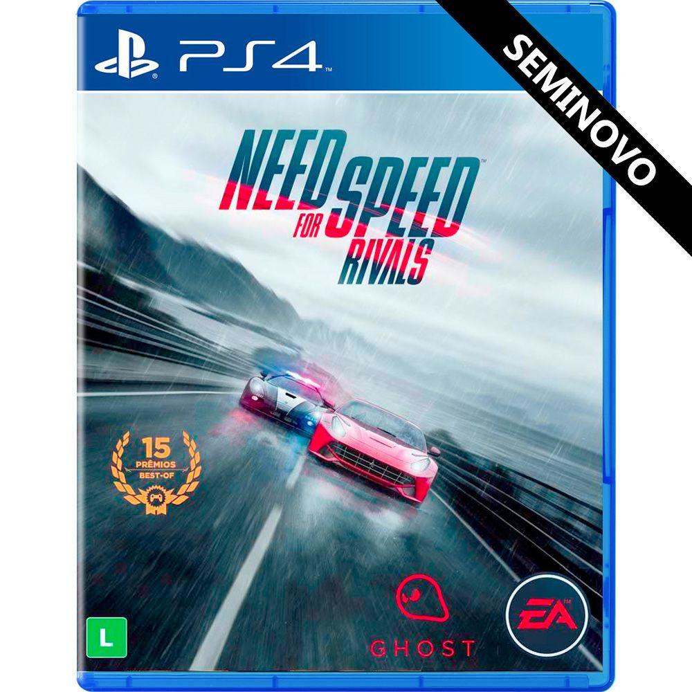 Need for Speed Rivals - PS4 (Seminovo)